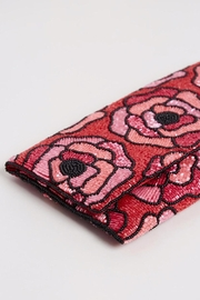 From St. Xavier  Flora Beaded Clutch - Front full body