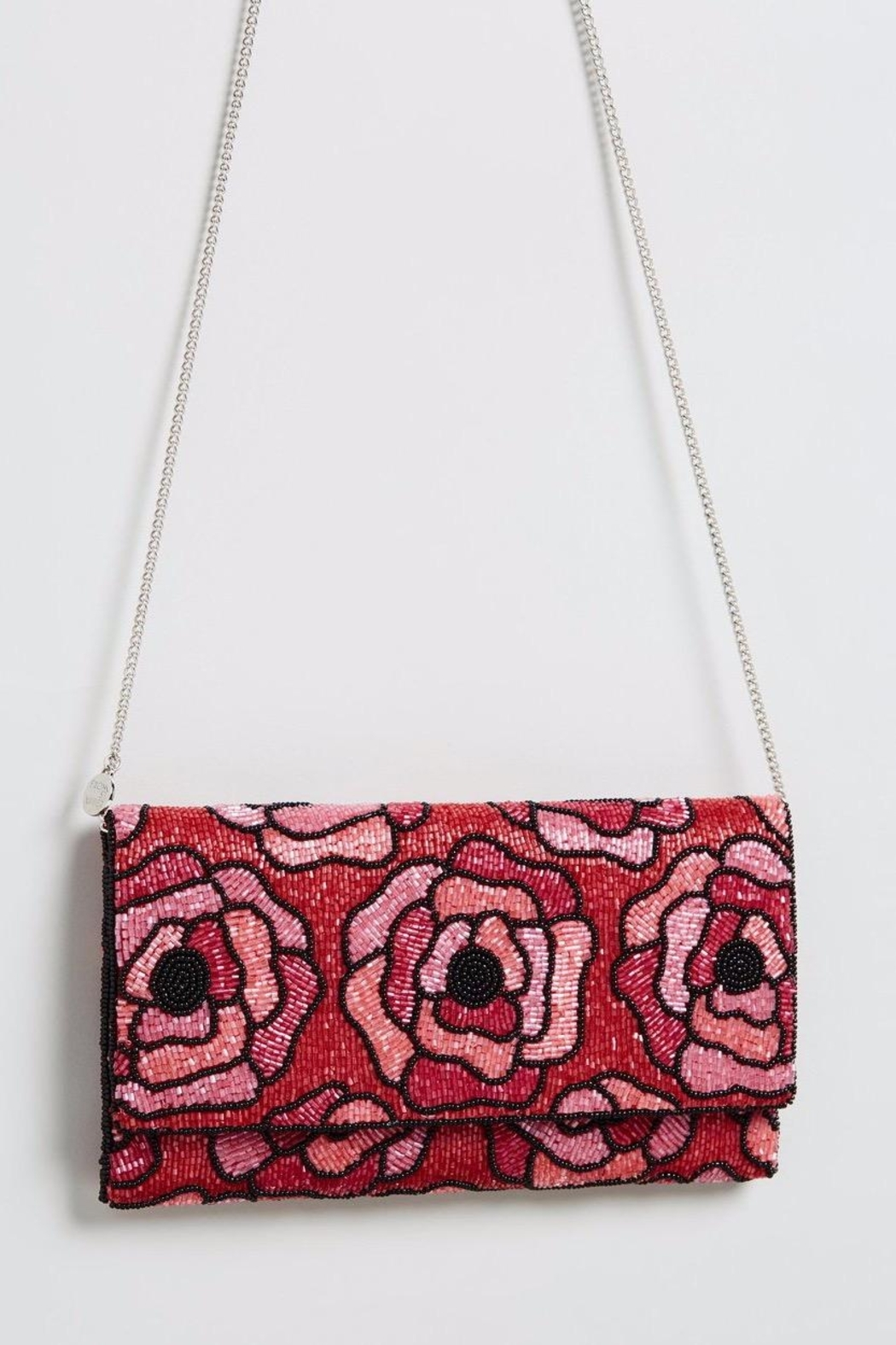 From St. Xavier  Flora Beaded Clutch - Main Image
