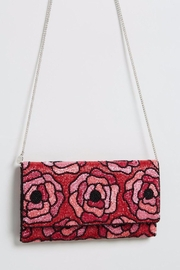 From St. Xavier  Flora Beaded Clutch - Front cropped
