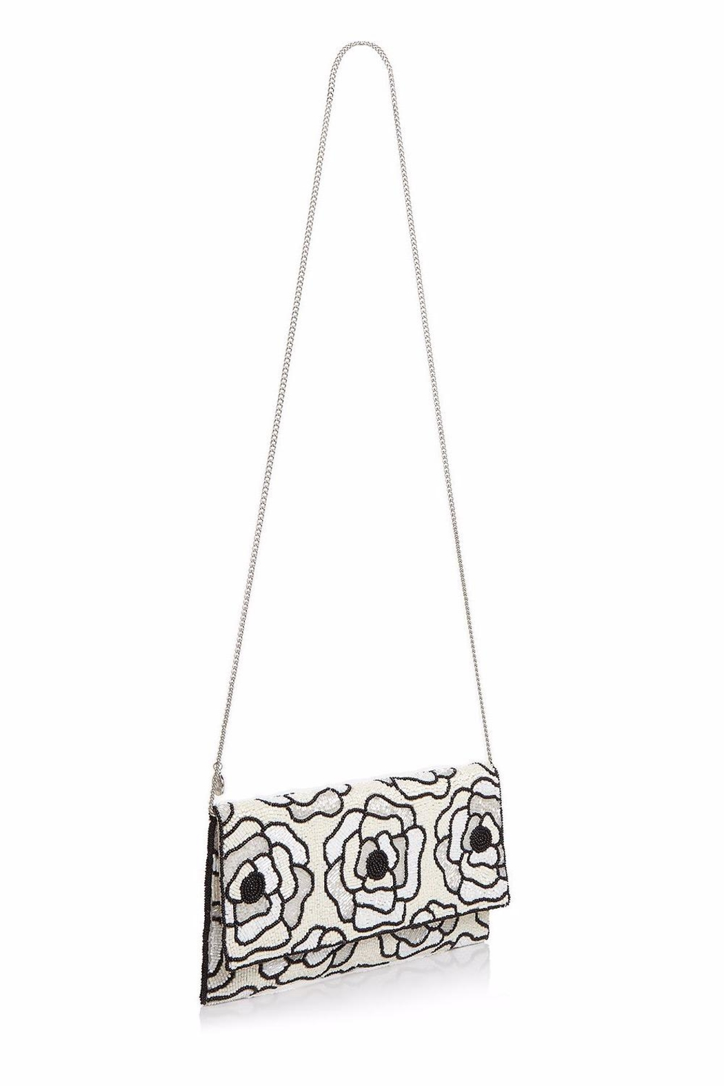 From St. Xavier  Flora Ii Beaded-Clutch - Side Cropped Image