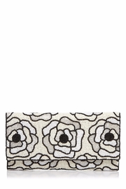 From St. Xavier  Flora Ii Beaded-Clutch - Front cropped