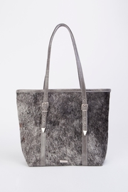 Arisch Flora Leather Tote - Front cropped