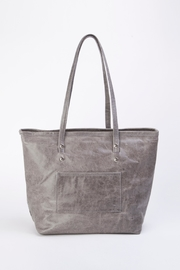 Arisch Flora Leather Tote - Side cropped