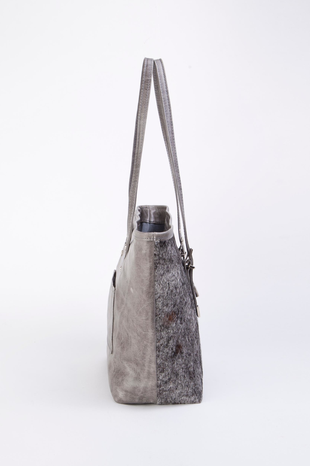 Arisch Flora Leather Tote - Front Full Image