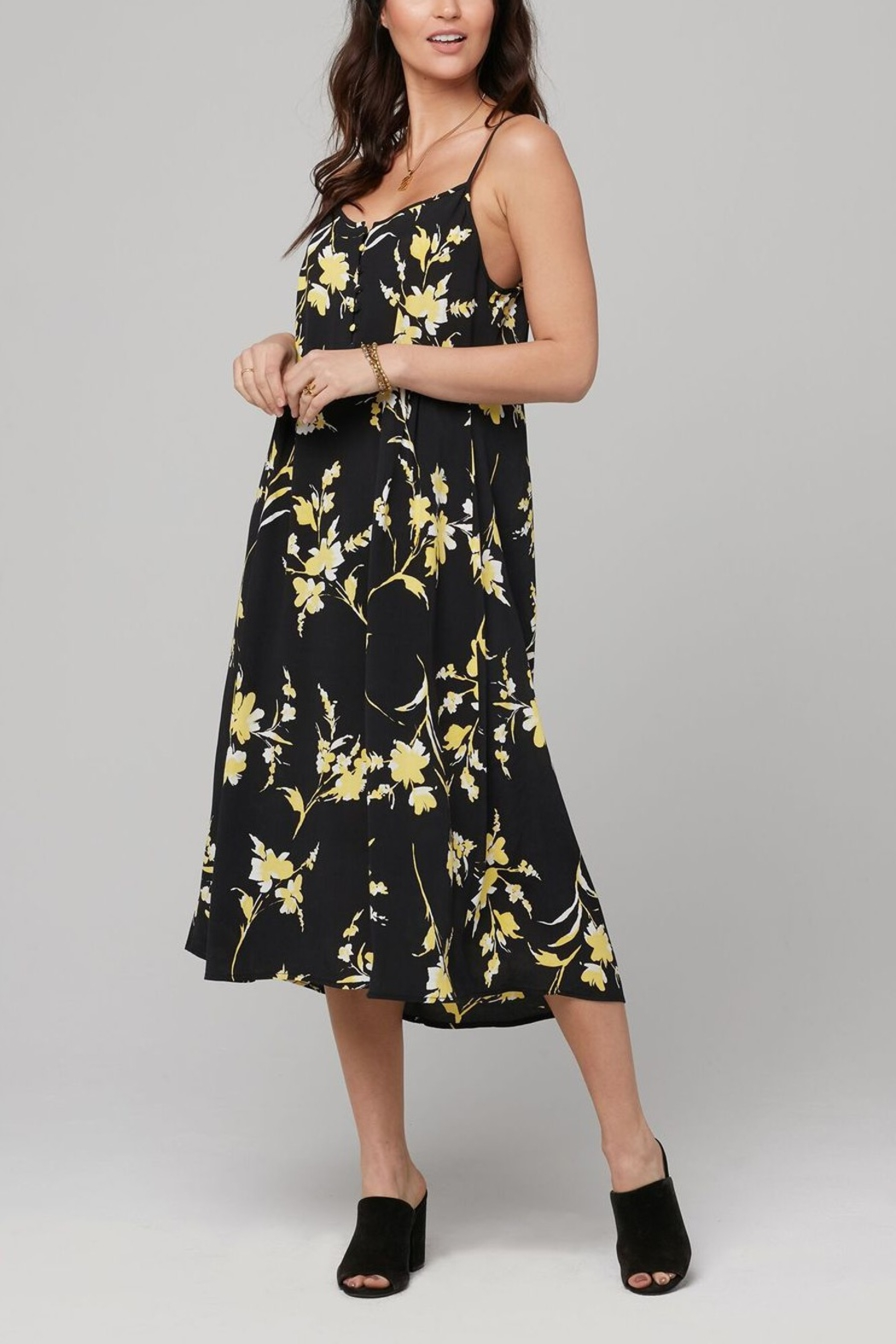Knot Sisters Flora Midi Dress - Main Image