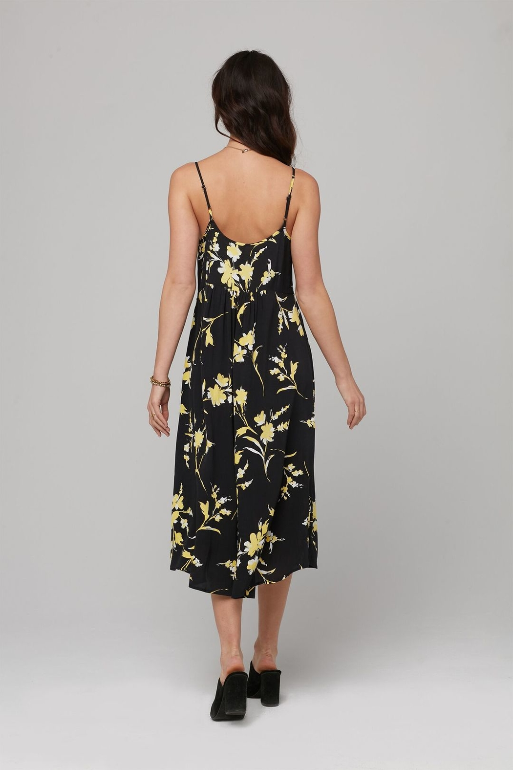 Knot Sisters Flora Midi Dress - Front Full Image
