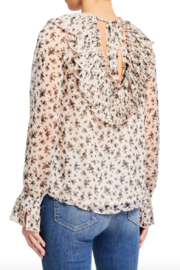 English Factory Flora Ruffled Blouse - Front full body