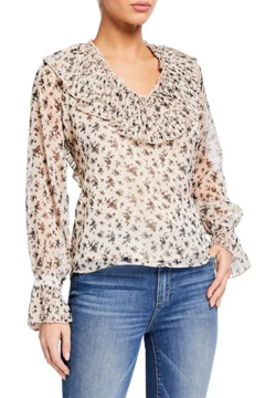 English Factory Flora Ruffled Blouse - Product List Image