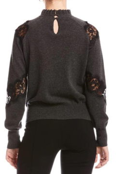Bailey 44 Flora Sweater With Lace - Alternate List Image