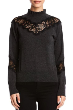Bailey 44 Flora Sweater With Lace - Product List Image
