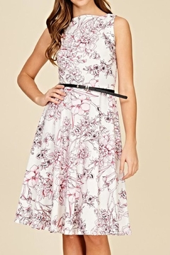 annabelle Floral A-Line Dress - Product List Image