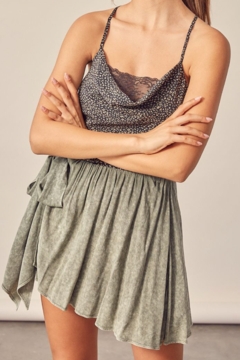 Mustard Seed  Floral and Lace Camisole - Alternate List Image