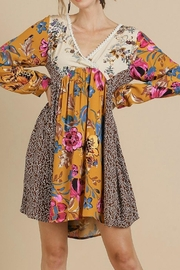 Umgee USA Floral Baby Doll - Front full body