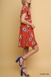 Umgee USA Floral Babydoll Dress - Product Mini Image