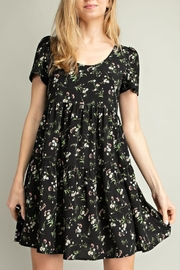 Mittoshop Floral Babydoll Dress - Front full body