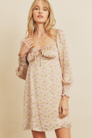 dress forum Floral Babydoll Dress - Product Mini Image
