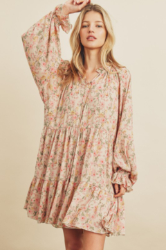 dress forum Floral Babydoll Swing Dress - Product List Image
