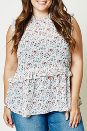 Hayden Floral Babydoll Top - Product Mini Image