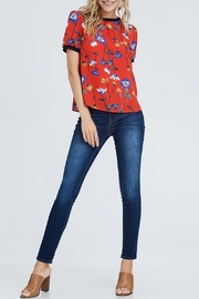 WESTMOON Floral Back-Zip Top - Product Mini Image