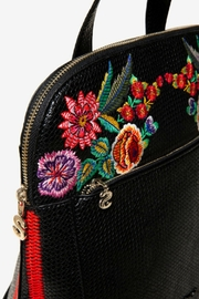 DESIGUAL Floral Backpack Mex Nanaimo - Back cropped