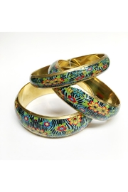 Worthwhile Wear Floral Bangle Set - Product Mini Image