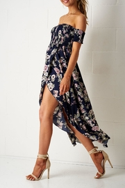 frontrow Floral Bardot Dress - Product Mini Image