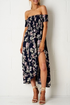 frontrow Floral Bardot Dress - Alternate List Image