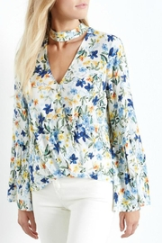 Fifteen Twenty Floral Bell Blouse - Product Mini Image