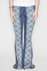 Bear Dance Floral Bell Bottoms - Product Mini Image