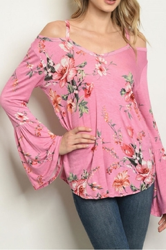Sweet Claire Floral Bell Sleeve - Alternate List Image