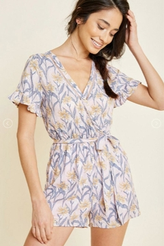 6347ca8d6a75 ... Hayden Los Angeles Floral Belted Romper - Product List Image