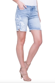 Liverpool Jean Company Floral Bermuda Shorts - Product Mini Image