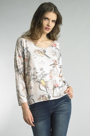 Tempo Paris Floral Bird Sweater - Product Mini Image