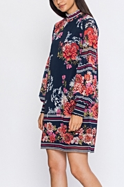 Jealous Tomato Floral Bishop Dress - Product Mini Image