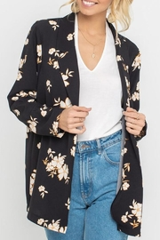 Lush Floral Blazer - Front cropped