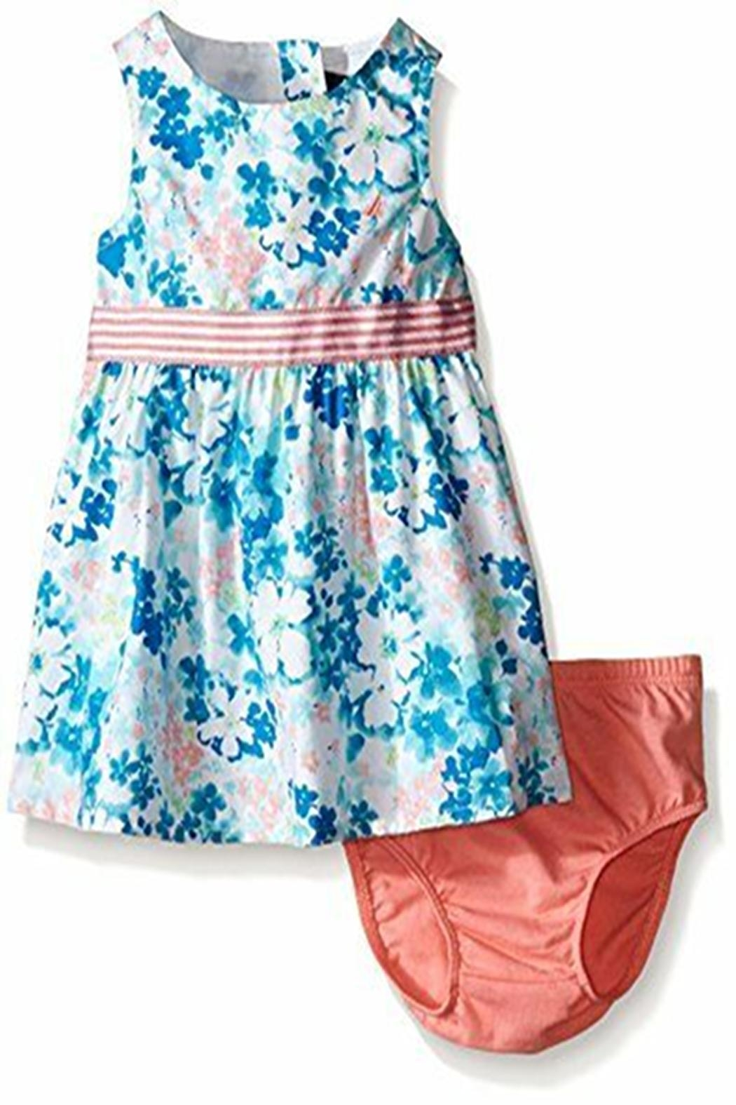 Nautica Floral Bloomer Dress - Main Image