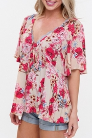 Listicle Floral Blouse - Product Mini Image