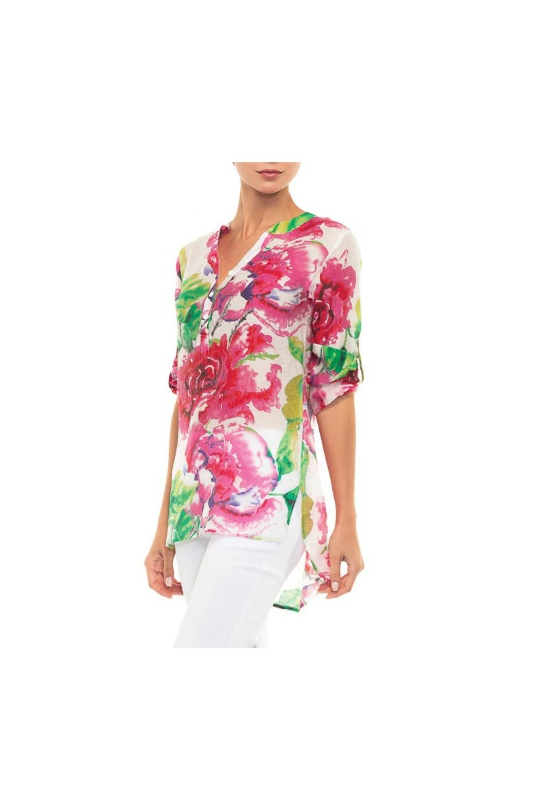 Alison Sheri Floral Blouse - Front Cropped Image