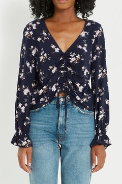 Soprano Floral Blouse - Product List Image