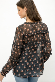 Mystree Floral Blouse - Side cropped