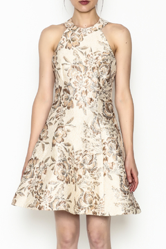 Shoptiques Product: Floral Brocade Dress
