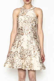 Dress the Population Floral Brocade Dress - Product Mini Image
