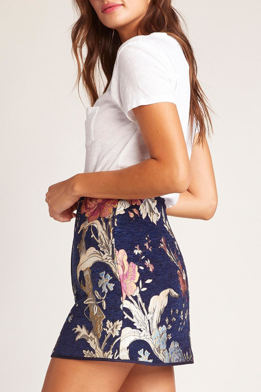 5c036fc0e402 Jack by BB Dakota Floral Brocade Skirt from New York by Luna ...