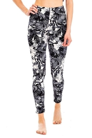Kimberly C. Floral Brushed Leggings - Side cropped