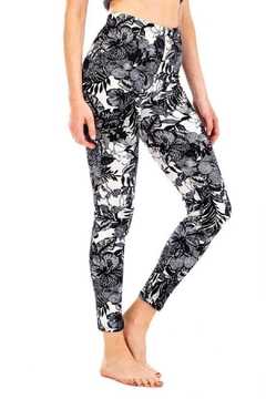 Kimberly C. Floral Brushed Leggings - Product List Image