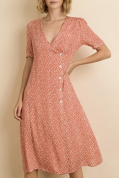 dress forum Floral Button-Down Midi - Product List Image