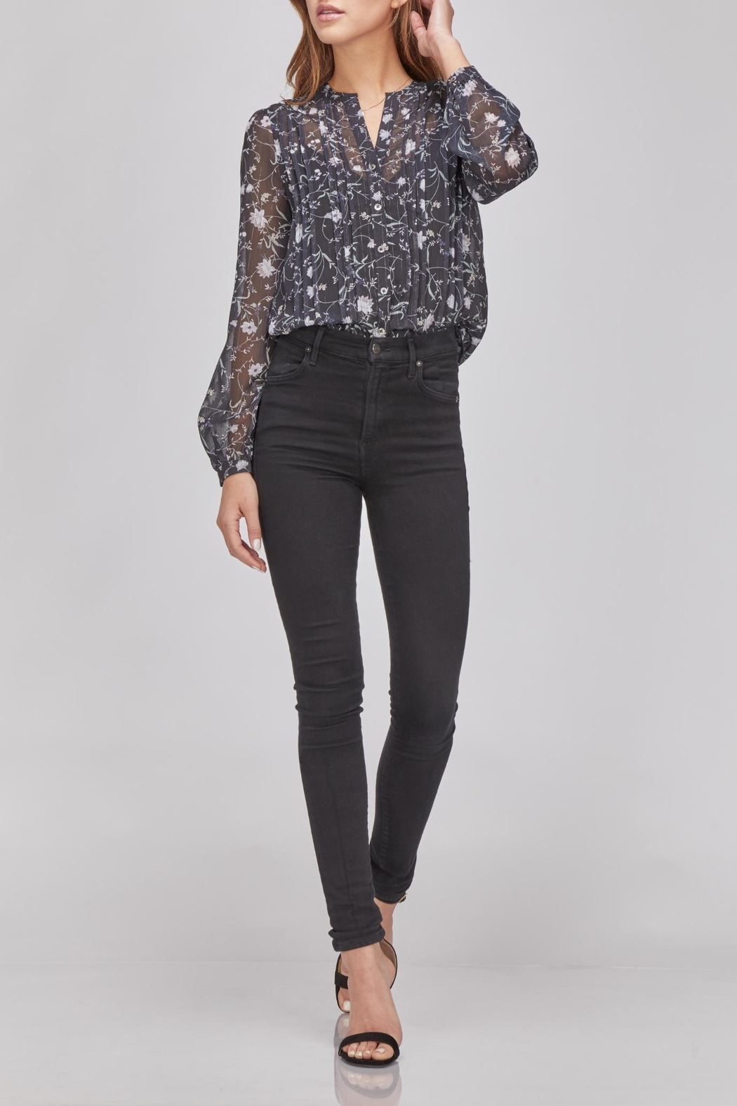 Greylin Floral Button-Up Blouse - Main Image