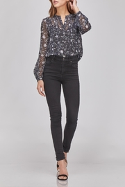 Greylin Floral Button-Up Blouse - Product Mini Image