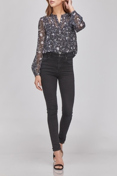 Greylin Floral Button-Up Blouse - Product List Image