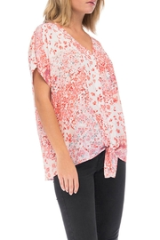 Bobeau Floral Button-Up Shirt - Side cropped